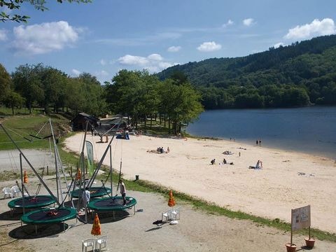 Flower Camping La Plage - Camping Correze - Image N°6