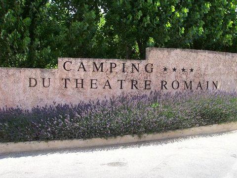 Camping du Théâtre Romain - Camping Vaucluse - Image N°8