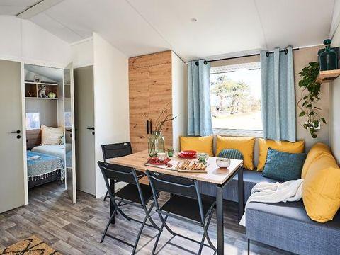 MOBILHOME 6 personnes - Cottage Bermudes Confort Plus 4 Pièces + TV