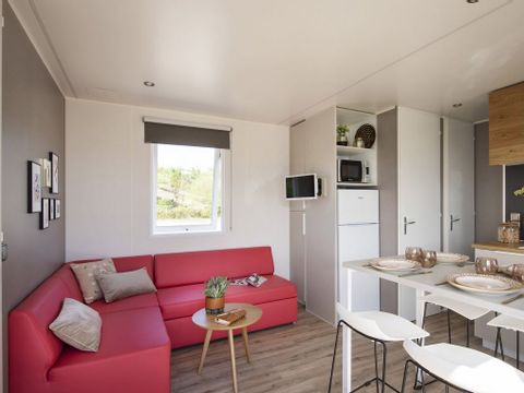 MOBILHOME 6 personnes - Summer + clim - 3 ch ****