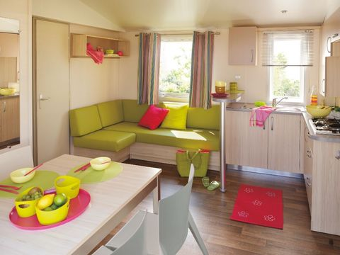 MOBILHOME 6 personnes - Cottage Easy 3 Ch 1 Sdb ***