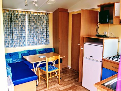 MOBILHOME 3 personnes - 2 chambres