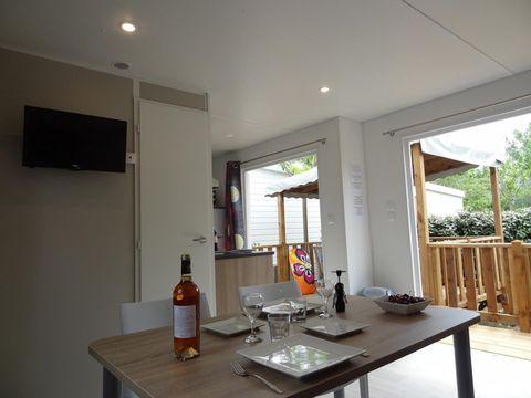 MOBILHOME 6 personnes - Confort + Declick Premium - Clim/TV/Lave-vaisselle - Samedi