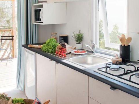 MOBILHOME 6 personnes - Mobil-home Loggia 27m² Clim/TV - Dimanche