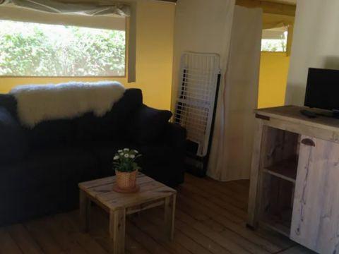 BUNGALOW TOILÉ 4 personnes - Freeflower Confort, 2 chambres (sans sanitaires)