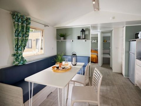 MOBILHOME 4 personnes - Cottage premium, 2 chambres +  clim