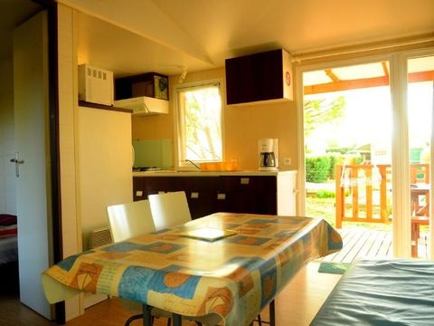 MOBILHOME 4 personnes - Eco, 2 chambres + clim