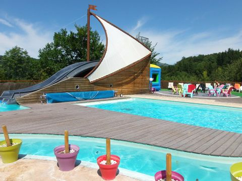 Camping Pommeraie - Camping Cantal - Image N°3