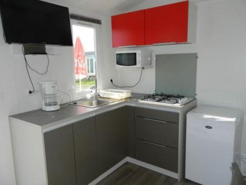 MOBILHOME 6 personnes - CONFORT+  25 à 36 m²