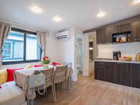 MOBILHOME 6 personnes - MODA PLUS climatisé, 3 chambres (p63c)