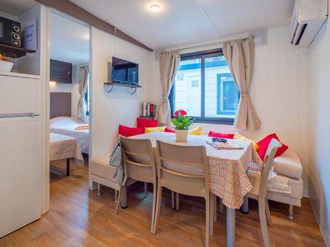 MOBILHOME 6 personnes - Moda 3 chambres climatisé + lave vaisselle (M63D)