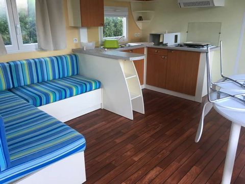 MOBILHOME 6 personnes - 3 chambres - 40 m²
