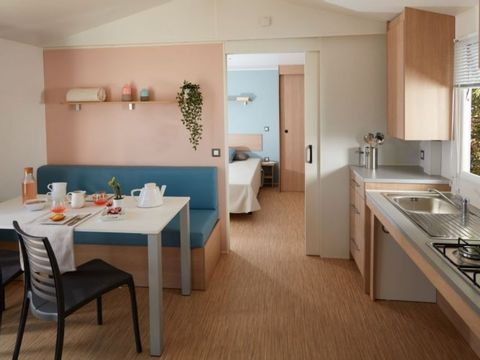 MOBILHOME 4 personnes - PMR climatisé, 2 chambres