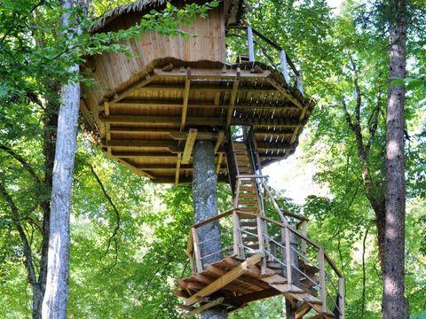 Camping Cabanes de la Belle - Camping Vienne - Image N°2