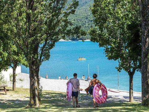 Camping L'Ecrin du Lac - Camping Hautes-Alpes - Image N°14