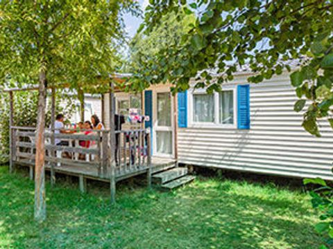 MOBILHOME 4 personnes - 2 chambres + TV