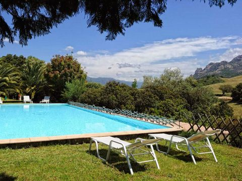 Camping aire naturelle de Pero Longo - Camping Corse du sud