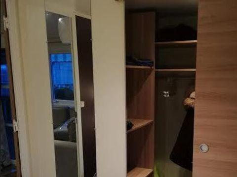 MOBILHOME 8 personnes - de Luxe*** 3 chambres n°725 - Dressing + Lave Vaiselle