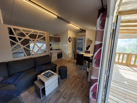 MOBILHOME 8 personnes - Excellence