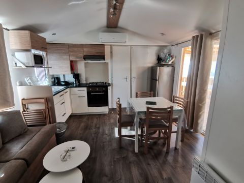 MOBILHOME 8 personnes - 3 chambres - C14