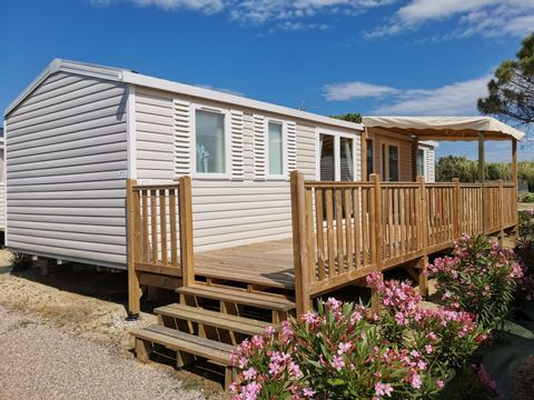 MOBILHOME 8 personnes - 3 chambres - H11