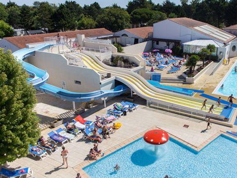 Tour Opérateur et particuliers sur camping Le Bois Masson - Funpass non inclus - Camping Vendée