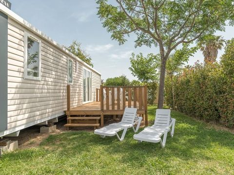 MOBILHOME 8 personnes - Cottage Famille 4 chambres + Clim