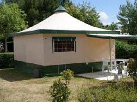 BUNGALOW TOILÉ 5 personnes - Bungalow toilé meublé 5 Places Cyrus