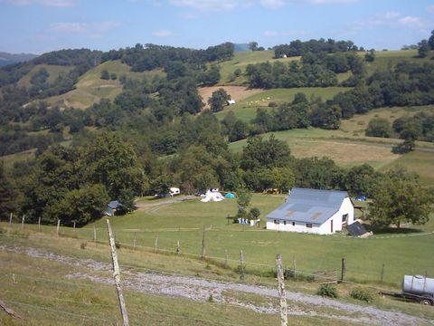 Camping a la ferme SOBIETA - Camping Pyrenees-Atlantiques
