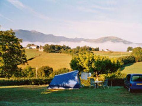 Camping aire naturelle Landran - Camping Pyrenees-Atlantiques