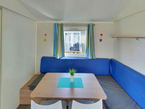 MOBILHOME 4 personnes - GRAND CONFORT 2 chambres + Terrasse