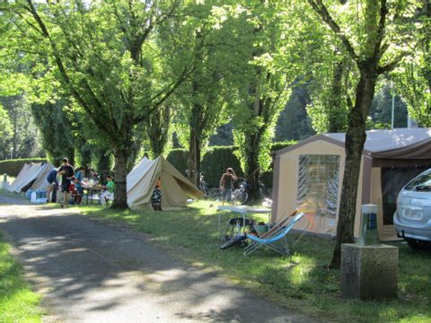 Aire de camping-cars - Camping Tarn