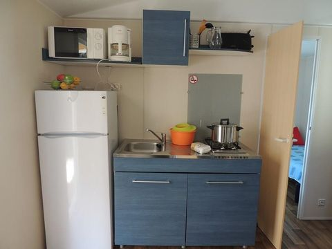 MOBILHOME 5 personnes - Confort Holiday, 2 chambres