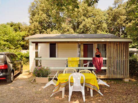 CHALET 5 personnes - Eco, 2 chambres (arrivées samedi)