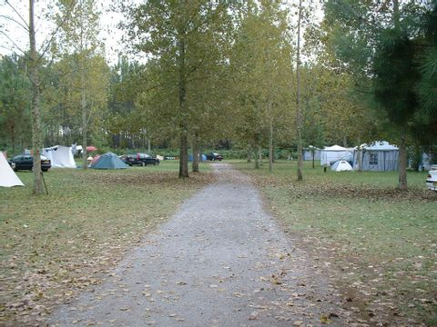 Camping aire naturelle Pesson - Camping Landes