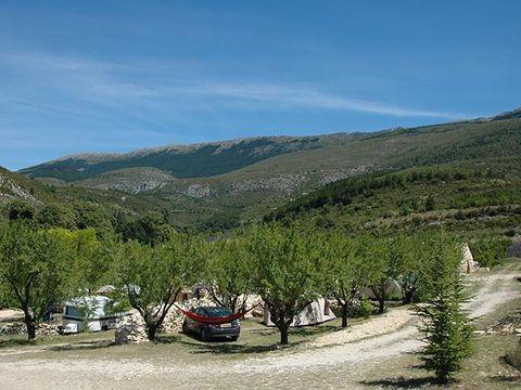 Camping aire naturelle de Lions Georges - Camping Alpes-de-Haute-Provence