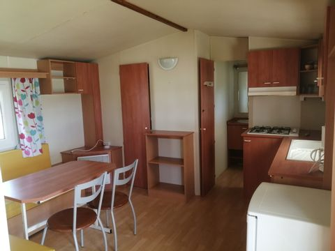 MOBILHOME 4 personnes - 2 chambres 27m2