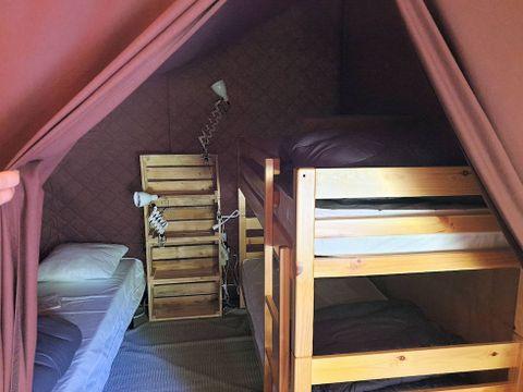TENTE TOILE ET BOIS 5 personnes - Lodge Cabanon Classic