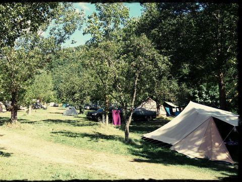Camping aire naturelle Le Katalpa - Camping Aveyron