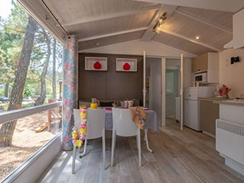 MOBILHOME 4 personnes - Aneth