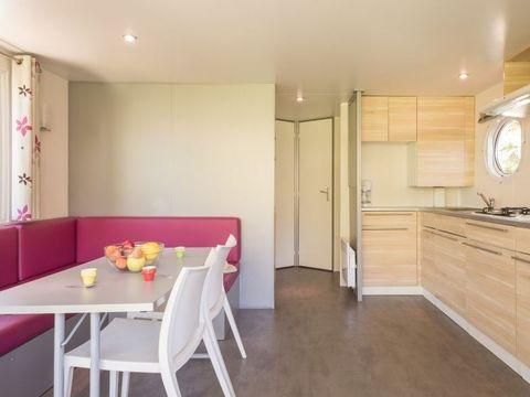 MOBILHOME 6 personnes - KOAWA Loggia Confort (vue jardin)