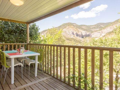 MOBILHOME 6 personnes - KOAWA Loggia Confort (vue montagne)