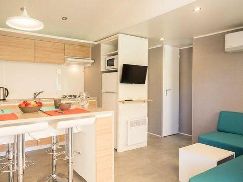 MOBILHOME 6 personnes - Cottage Espace Premium Climatisé 4 pièces