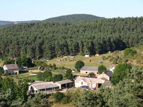 Camping aire naturelle de Camping Le Bouquet - Camping Lozere