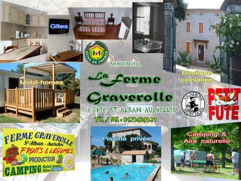 Camping aire naturelle de Jauzion-graverolle Guy - Camping Ardeche