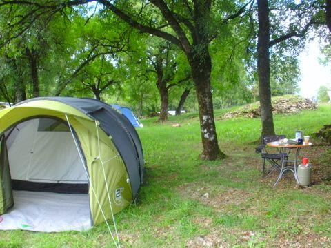 Aire Naturelle de Camping à la Ferme Chez Estay - Camping Lot