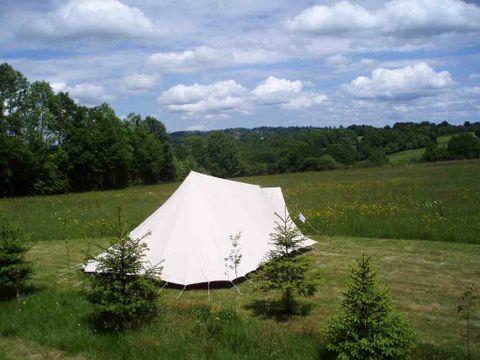 Camping à la ferme Le Domaine Vert - Camping Correze - Image N°3