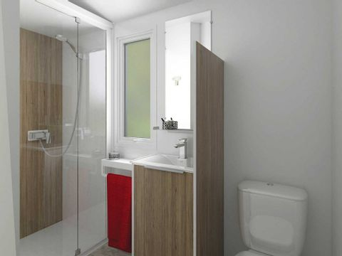 MOBILHOME 5 personnes - VIP Family 2 chambres 2 salles de bains