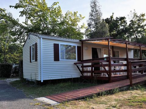 MOBILHOME 5 personnes - ANDARO Family - PMR