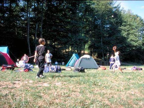 Camping aire naturelle de Point D'accueil Jeunes - Camping Rhone
